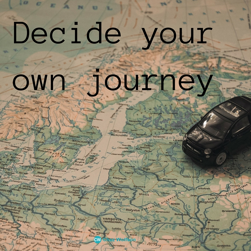 Decide your own journey
